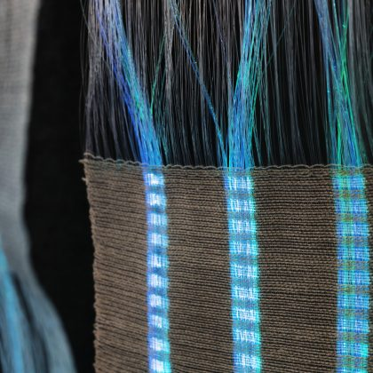 Optical textile