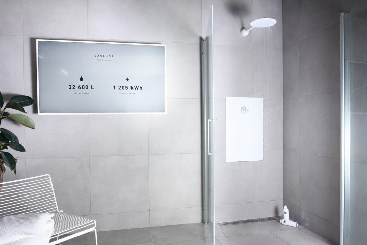 Orbital systems shower